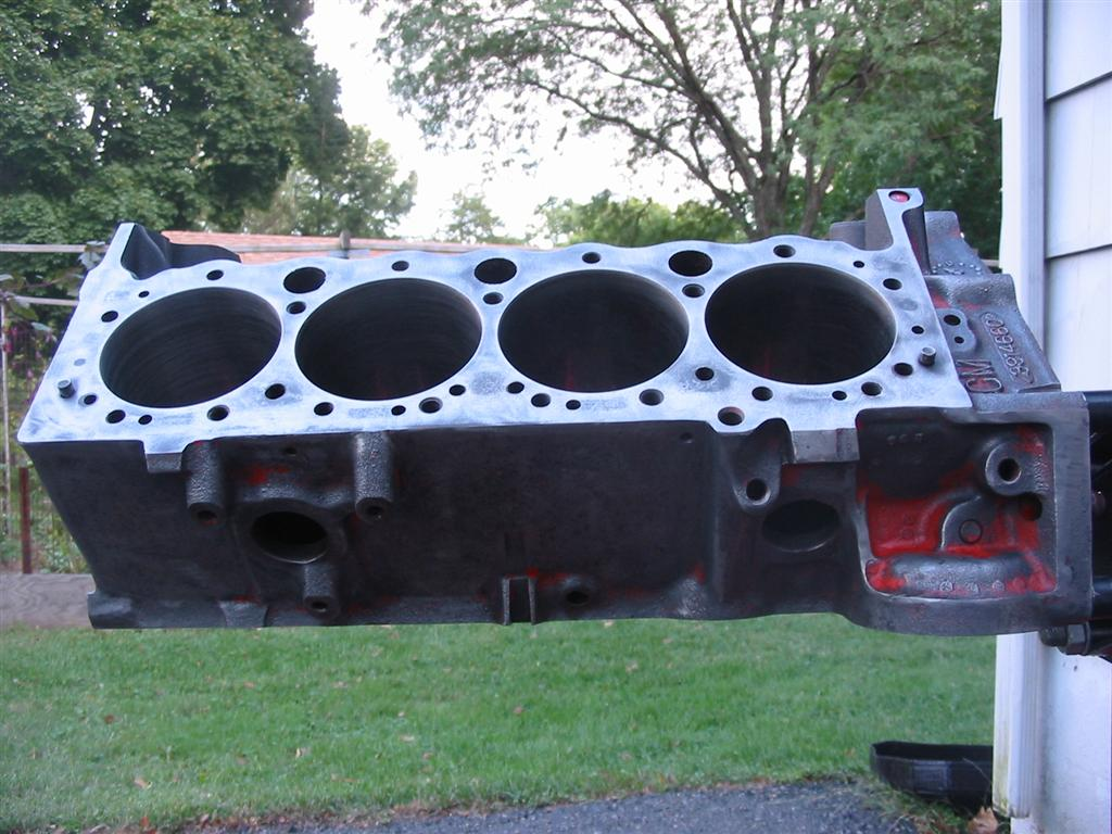 how to clean engine block water passages